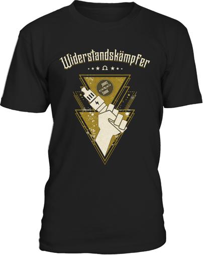 Dampfer Shirt Widerstand