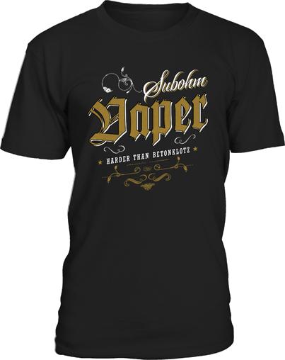 Damper shirts subohm vaper