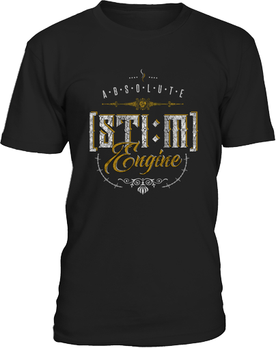 Dampf Shirt Steam Engine
