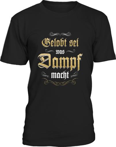 Damper t-shirt gelobt