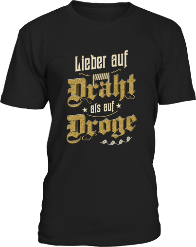 Dampfer Shirt Draht
