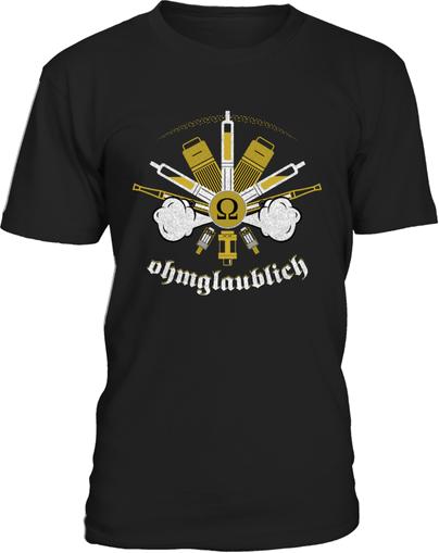 Dampfer t-shirt ohmglaublich