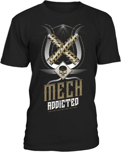 dampfer shirts mech adicted